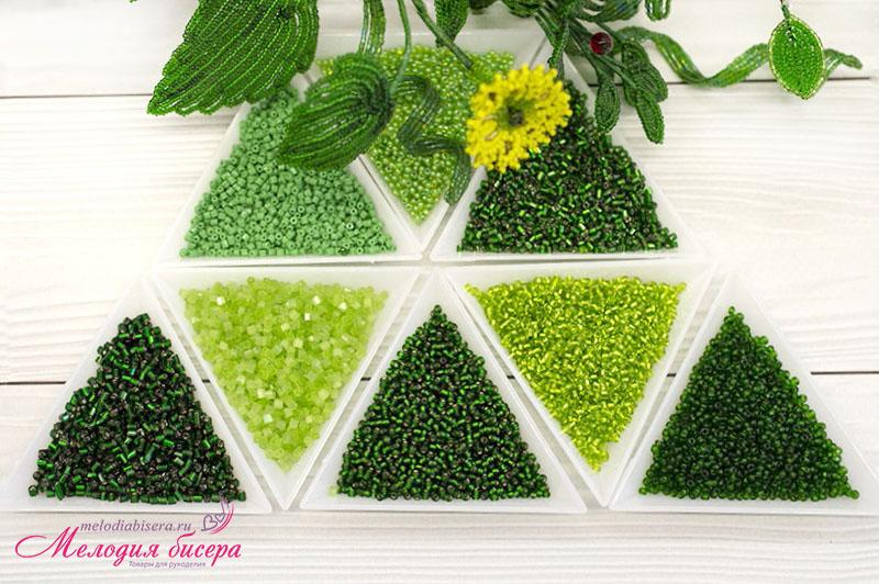Зеленый набор для творчества