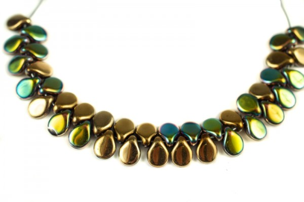 Купить Бусины Pip beads 5х7мм, цвет 00030/98546 California Meadows, 701-008, 5 грамм (~36 шт)