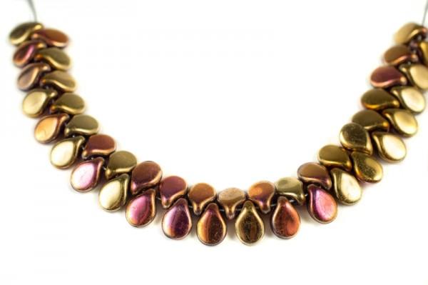 Купить Бусины Pip beads 5х7мм, цвет 00030/98544 California Pink, 701-007, 5 грамм (~36 шт)